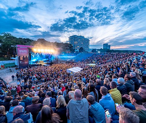 Stars am Strand 2018 Musik-Arena am Meer Felix Jaehn Sarah Connor Roland Kaiser